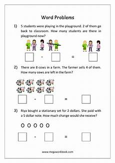 subtraction stories worksheets for kindergarten 10536 addition and subtraction word problems worksheets for kindergarten and grade 1 story sums s