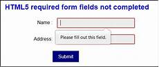accessible forms 2 required fields and extra information web usability