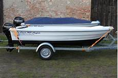 balticliner 1411 angler trailer motor 15 ps neu