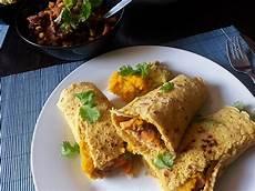 Vegane Tortilla Wraps Mit K 252 Rbis Guacamole Rezept Mit