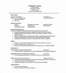 resume in one page exle one page resume template cyberuse