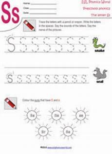 letter ss worksheets 23301 preschool worksheets letters a z tracing kindergarten phonics