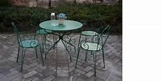 Salon Jardin M 233 Tal 4 Assises Vert Mousse