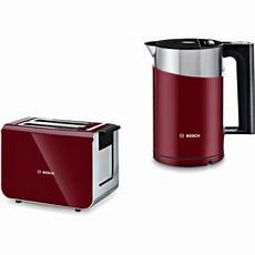 bosch styline twk86104gb and tat86104gb kettle and toaster