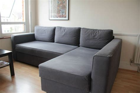 Ikea Manstad Corner Sofa-bed With Chaise Longue And