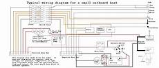wiring diagram small outboard boat restoration in 2019