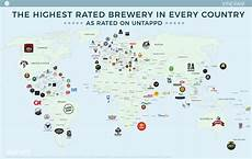 best ipa in the world map the highest brewery in every country vinepair