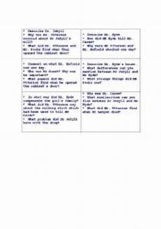english teaching worksheets dr jekyll and mr hyde