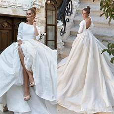 Classic Satin Wedding Gowns