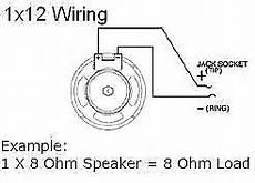 earcandy 1x10 1x12 1x15 guitar speaker cab wiring harness reverb