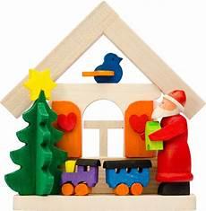 Malvorlagen Weihnachtsmann Haus Christbaumschmuck Haus Weihnachtsmann Mit Eisenbahn 7 5