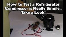 refrigerator repair not cooling or freezing how to test a compressor lg samsung maytag