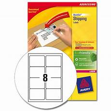 buy avery l7165 laser printer labels 8 labels per page 99 1x67 7mm ref l7165 500 500 sheets