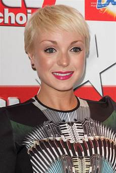 helen george short feathery pixie for fine hair