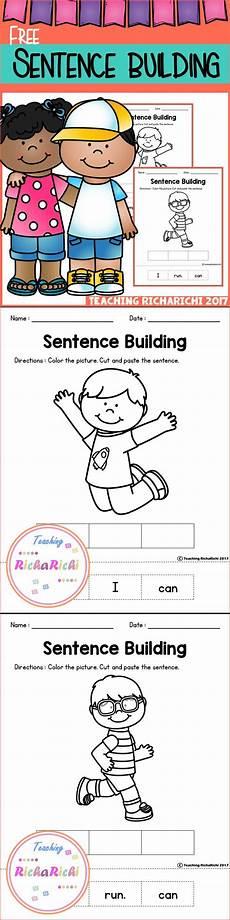 building sentences worksheets for grade 2 21034 free sentence building kindergarten writing sentence building teaching