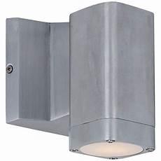 lightray 5 1 4 quot h rectangular aluminum led outdoor wall