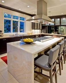 High End Kitchen Island Designs by Luxurious Island Design Ideas For High End Kitchen Countertops