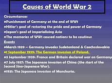 Ww2 Cause And Effect Chart Ww2 Causes Amp Outcomes