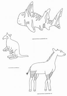 malvorlagen ausmalbilder tiere australien ausmalbilder