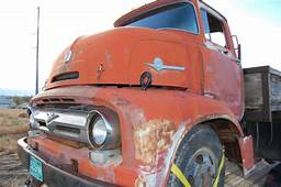 Classic 1956 FORD COE F600 Cab Over Rat Rod For Sale