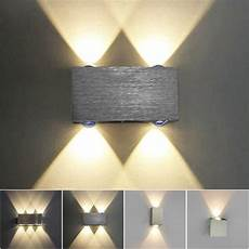 modern sconce led wall l stair light fixture bedroom bed bedside lighting living room home
