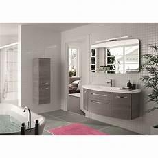 meuble de salle de bains plus de 120 gris argent image