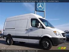 Arctic White  2012 Mercedes Benz Sprinter 3500 High Roof