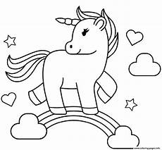 print rainbow unicorn coloring pages unicorn coloring