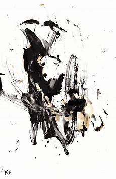 Abstract Paintings Black And White