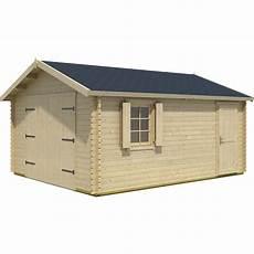 Garage Bois Kunda 1 Voiture 24 01 M 178 Leroy Merlin