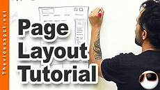 web design tutorial designing your top level web page templates youtube
