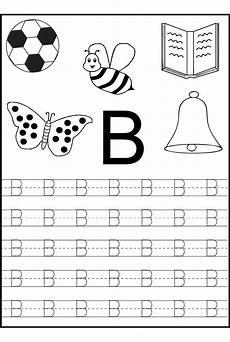 free preschool worksheets letter b 24454 tracing alphabet for writing practice preschool writing