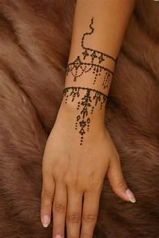 armband handgelenk henna vorlagen