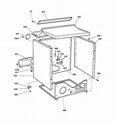 ge electric dryer parts diagram ge electric dryer cabinet parts model dbxr453ev0ww searspartsdirect