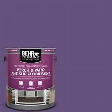 behr premium 1 gal hdc md 25 virtual violet textured low lustre enamel interior exterior porch