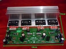 400 watt lifier kit jual kit power lifier 400 watt stereo sk 2 rangkaian di lapak sinar suryanindo perkasa