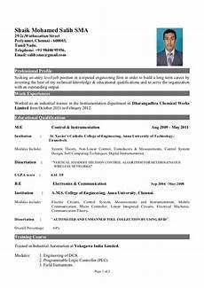 sle resume for freshers non technical sle resume