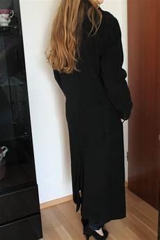mantel schwarz lang kleiderkorb de