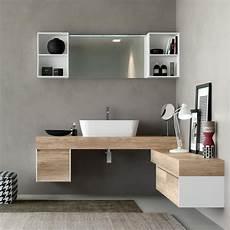 mobili bagno legno naturale mobile bagno in legno naturale con effetto ruvido idfdesign