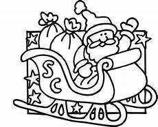 santa coloring pages free on clipartmag