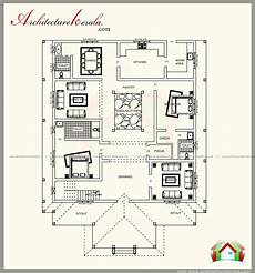 kerala house plan and elevation traditional kerala style house plan with two elevations
