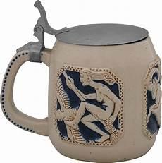 westerwälder keramik manufaktur seidel mit metalldeckel keramikmuseum westerwald
