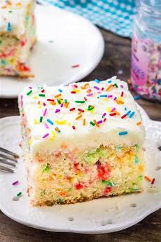 funfetti sheet cake yellowblissroad com