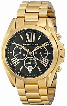 michael kors mk5739 chronograph schwarz gold