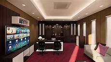 Desain Interior Ruang Pimpinan
