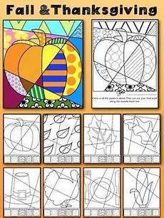 fall thanksgiving activities interactive quot pop art quot coloring sheets thanksgiving