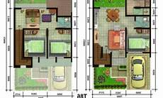 15 Denah Rumah Sederhana Terbaru Dan Terindah Oliswel