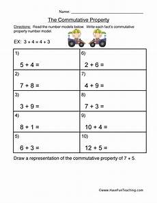associative property of addition worksheets grade 3 9208 commutative property addition worksheet