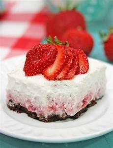 strawberry cloud dessert the craft patch