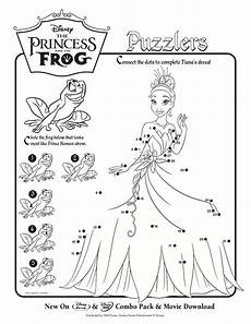 the princess and the frog activity sheets